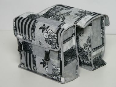 New looxs Doppelpacktasche Vigo Double Racktime II schwarz 37 l